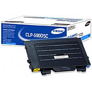 Remanufactured Samsung CLP-500D5C Toner Cartridge Cyan CLP-500D5C - rem01
