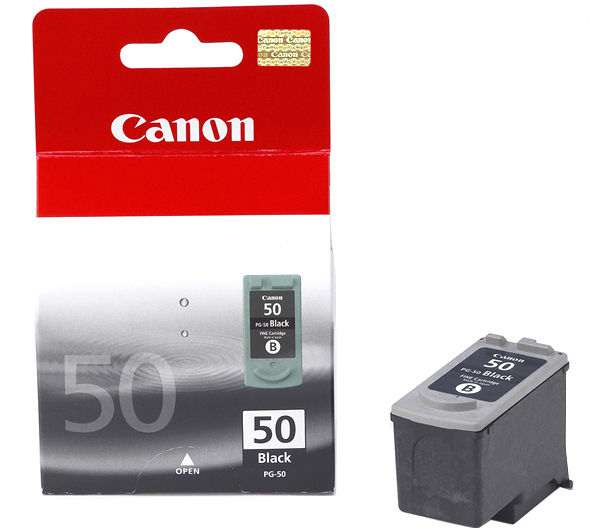 Remanufactured Canon 0616B001AA (PG50) Black Ink Cartridge PG50 - rem01