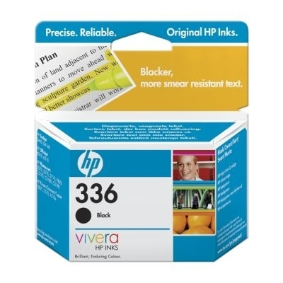 Remanufactured HP C9362EE (336) Black Ink Cartridge C9362E - rem01