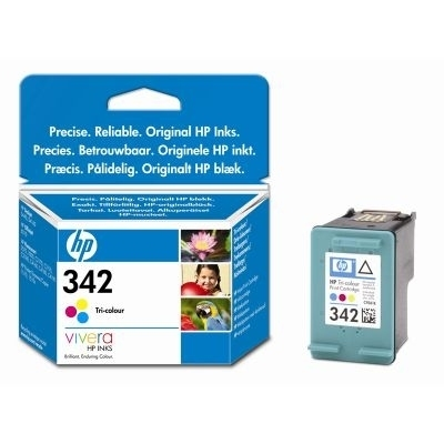 Remanufactured HP C9361EE (342) Colour Ink Cartridge C9361E - rem01