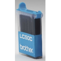 Compatible Brother (LC50C) Cyan Ink Cartridge LC50C - rem01