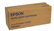 Remanufactured Epson C13S050034 Yellow Toner Cartridge S050034 - rem01
