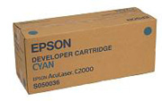 Remanufactured Epson C13S050036 Cyan Toner Cartridge S050036 - rem01