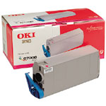 Remanufactured Oki 41304210 Toner Cartridge Magenta 41304210 - rem01