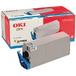 Remanufactured Oki 41304211 Toner Cartridge Cyan 41304211 - rem01
