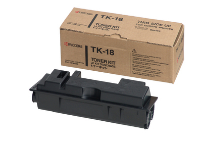 Remanufactured Kyocera 370Qb0KX / TK-18 Toner Cartridge Black 370QB0KX - rem01