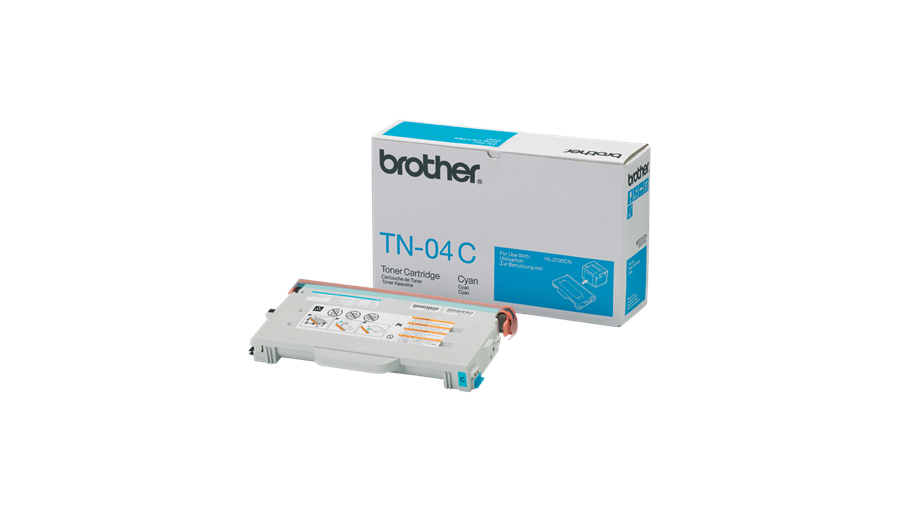 Remanufactured Brother TN04C Toner Cartridge Cyan TN04C - rem01
