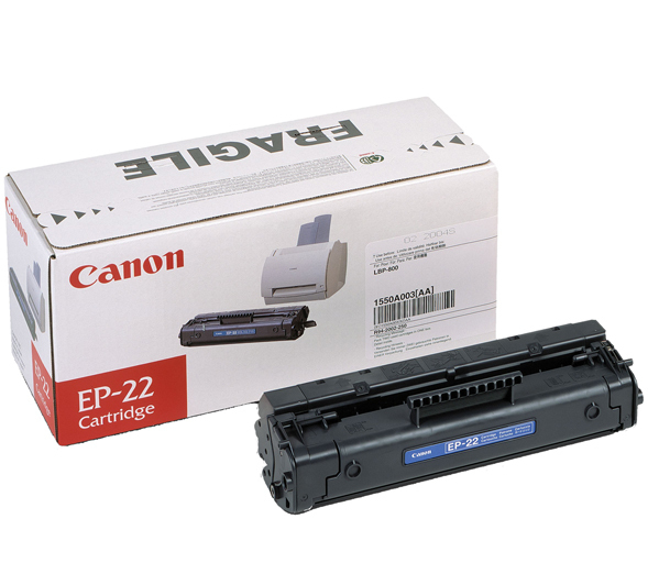 Remanufactured Canon EP-22 Toner Cartridge Black 2.5K EP-22 - rem01