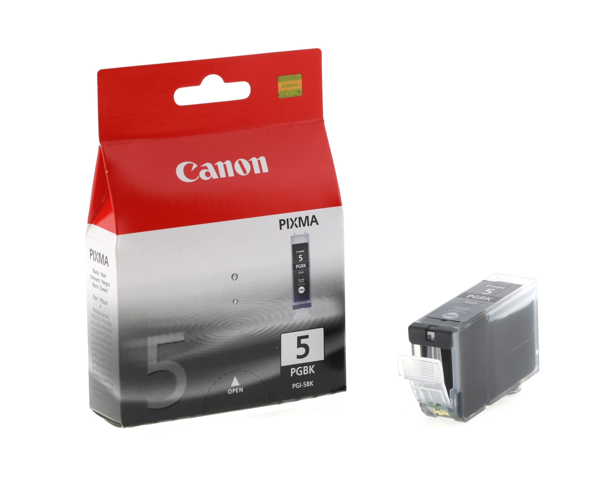Blue Box Compatible Canon 0628B001AA (PGI5) Black Ink Cartridge PGI5B - rem01