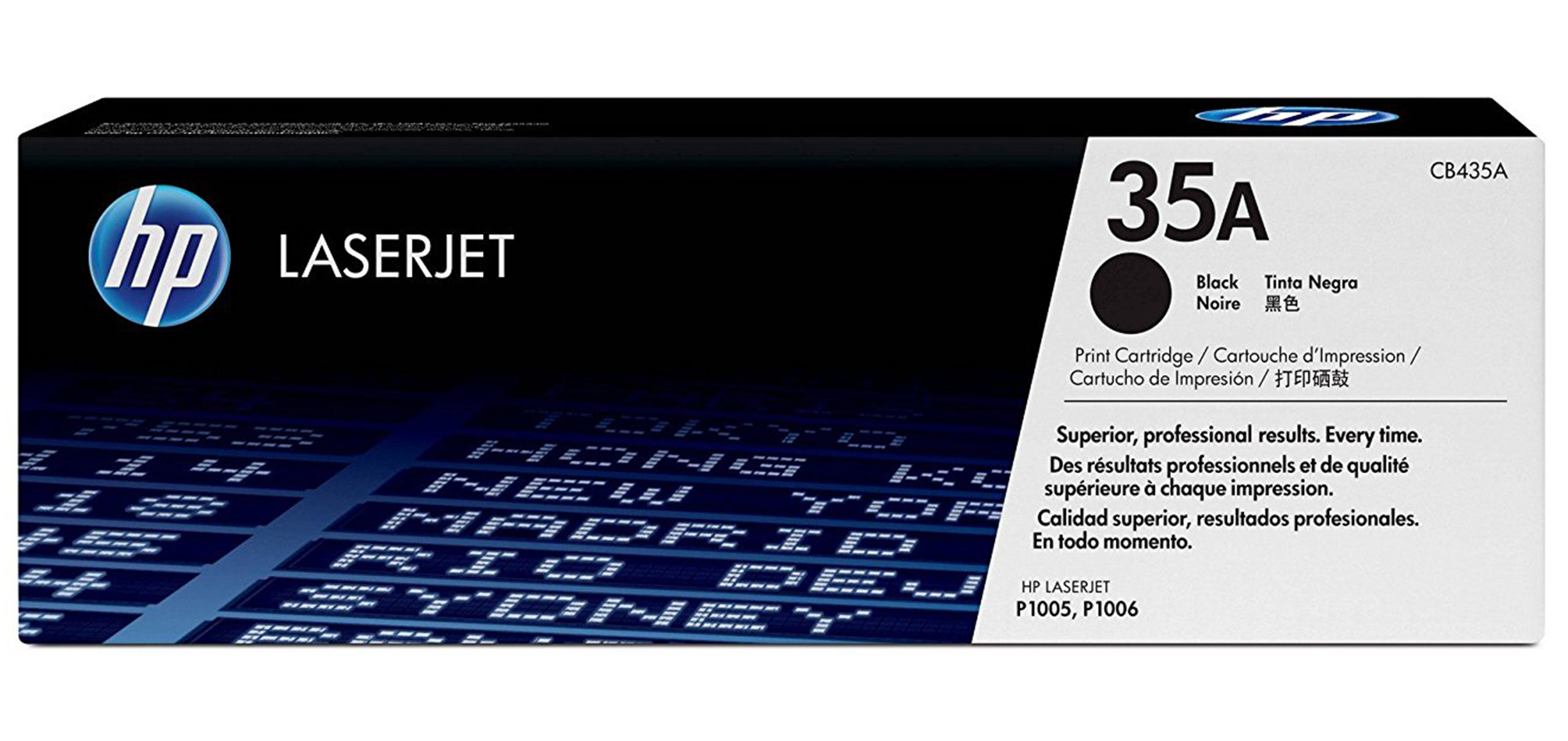 Remanufactured HP CB435A Toner Cartridge Black CB435A - rem01