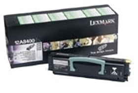 Remanufactured Lexmark 12A8400 Toner Cartridge Black 12A8400 - rem01