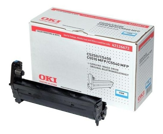Remanufactured Oki42126672 Drum Cyan 42126672 - rem01
