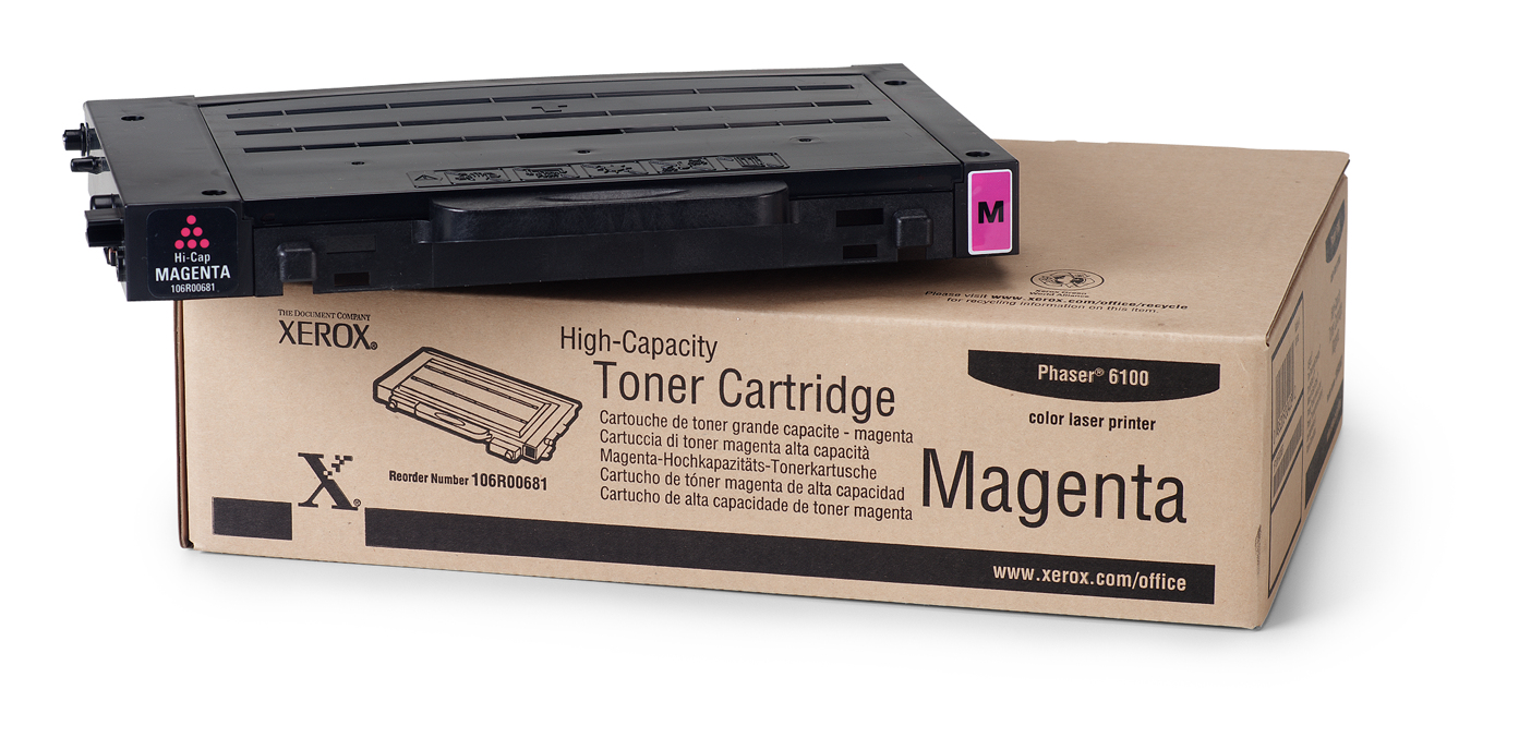Remanufactured Xerox 106R00681 Toner Cartridge Magenta 106R00681 - rem01