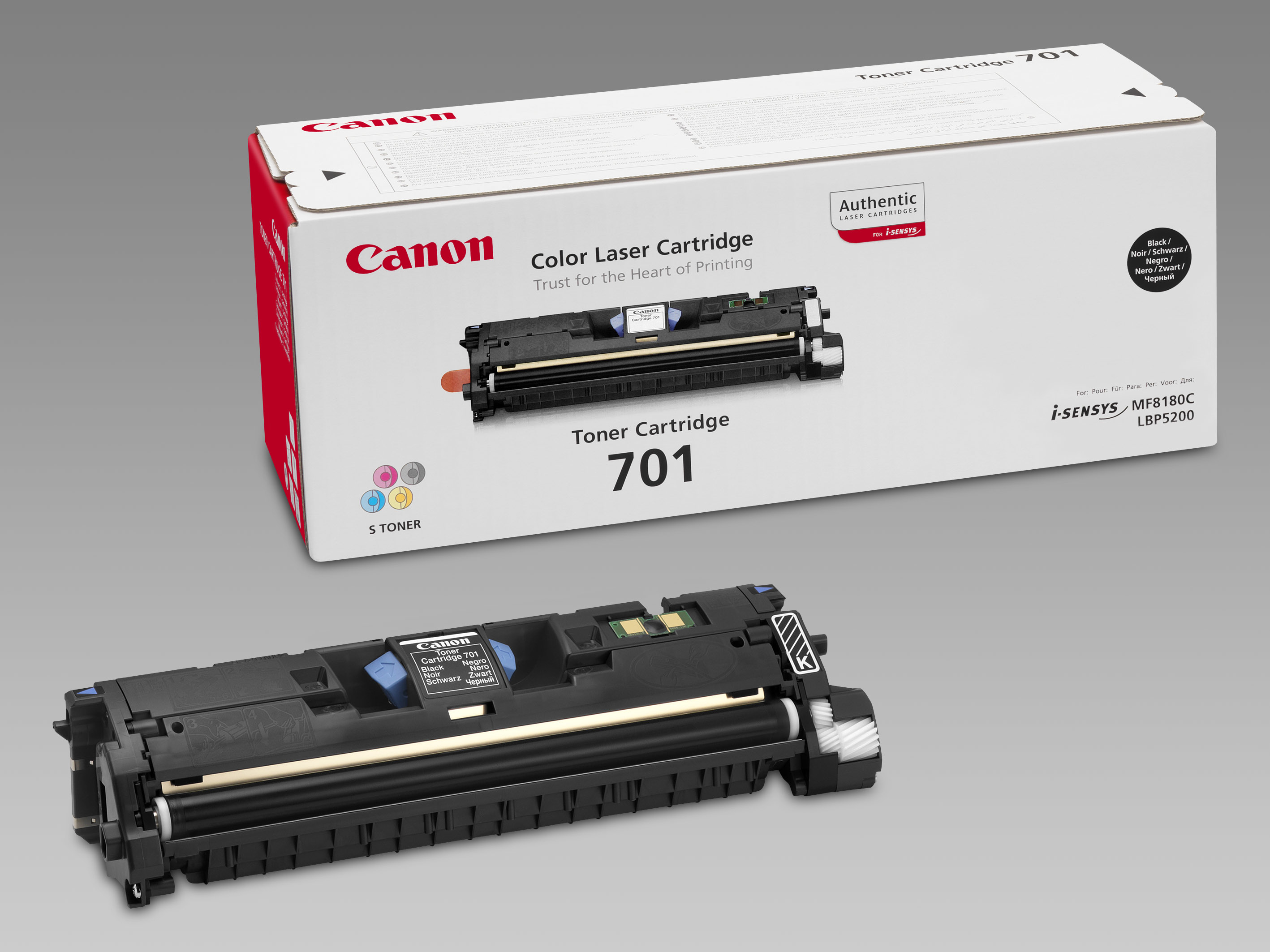 Remanufactured Canon 9287A003AA Toner Cartridge Black 9287A003AA - rem01