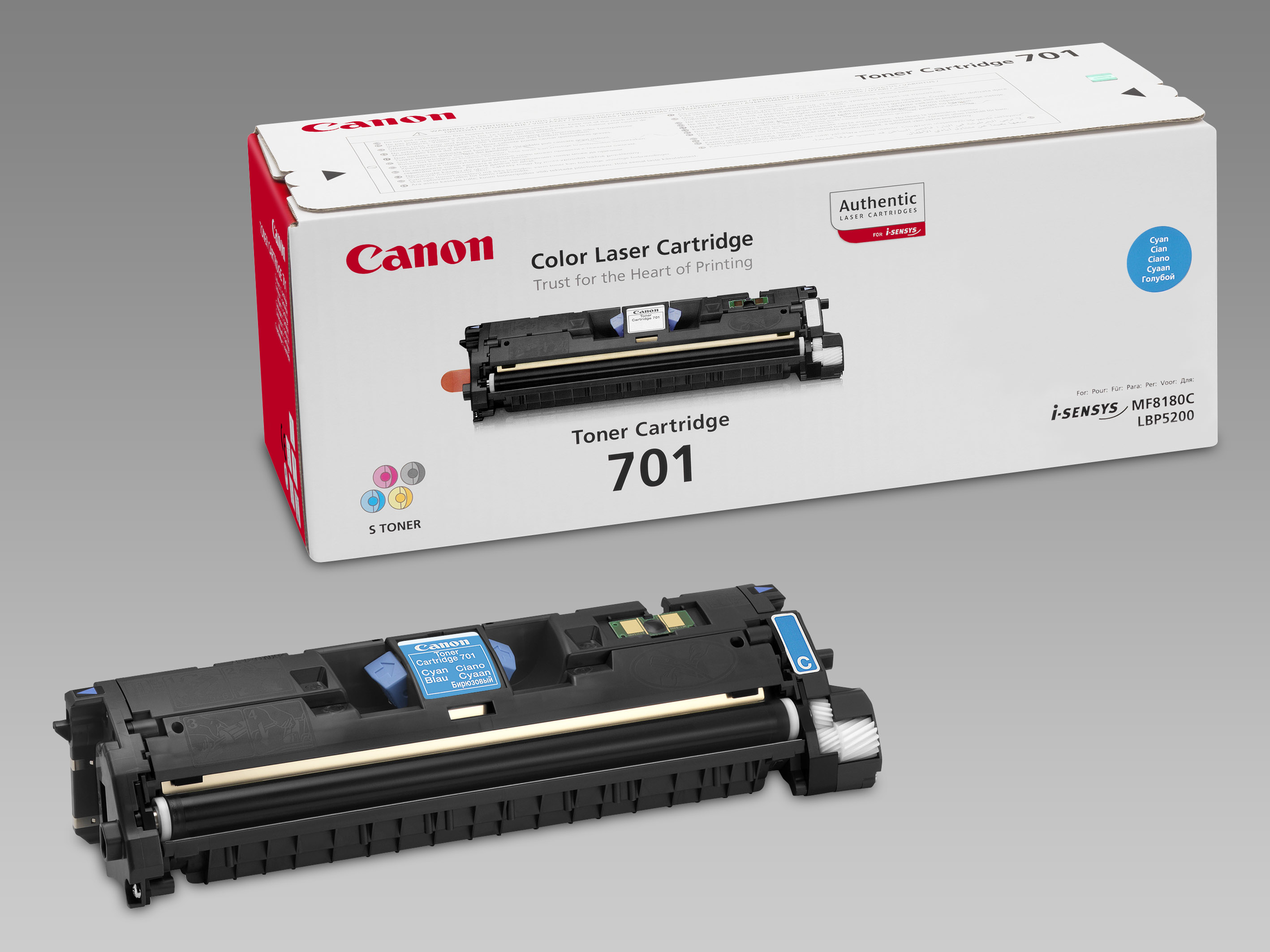 Remanufactured Canon 9286A003AA Toner Cartridge Cyan 9286A003AA - rem01