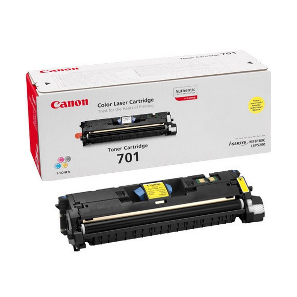 Remanufactured Canon 9284A003AA Toner Cartridge Yellow 9284A003AA - rem01