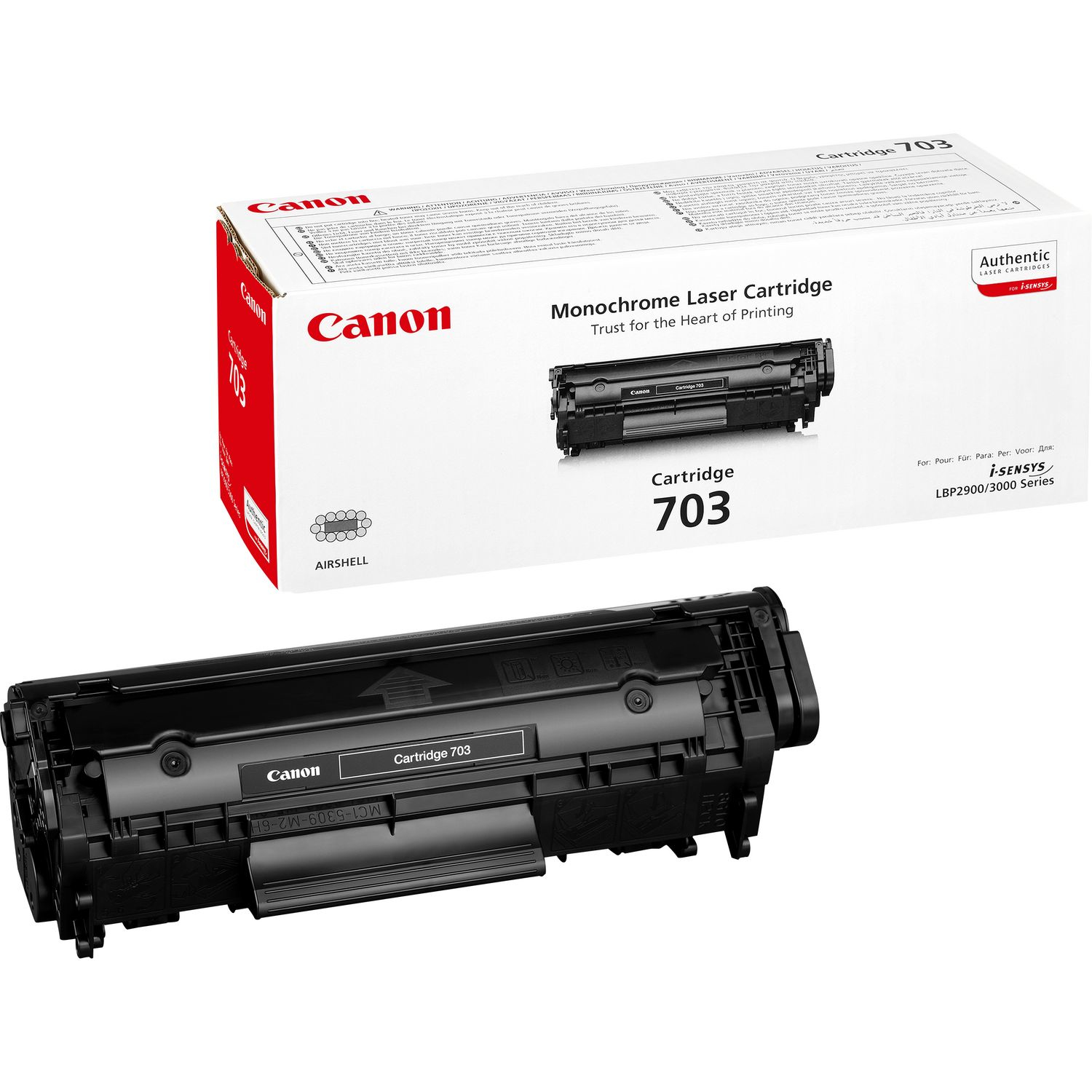 Remanufactured Canon 7616A005AA Toner Cartridge Black 7616A005AA - rem01