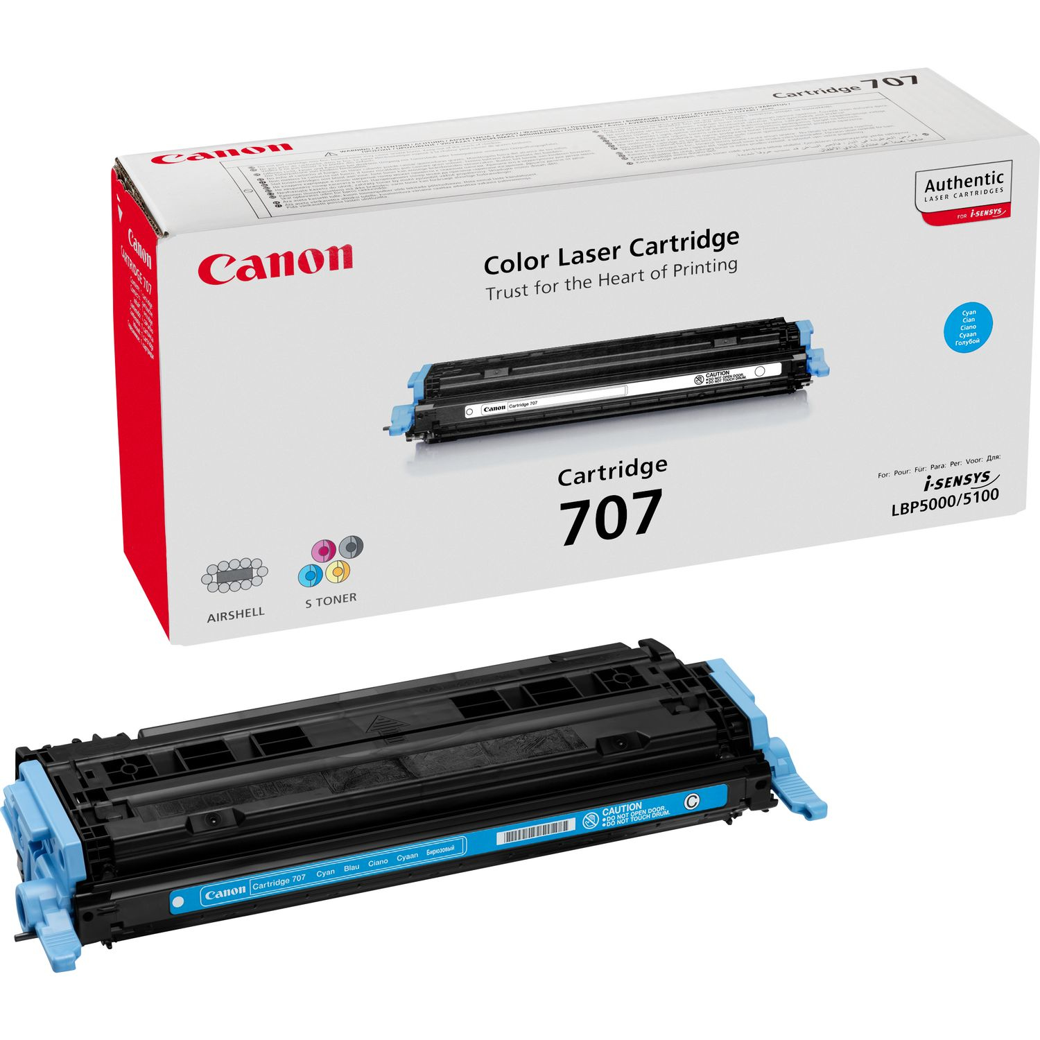 Remanufactured Canon 9423A004AA Toner Cartridge Cyan 9423A004AA - rem01