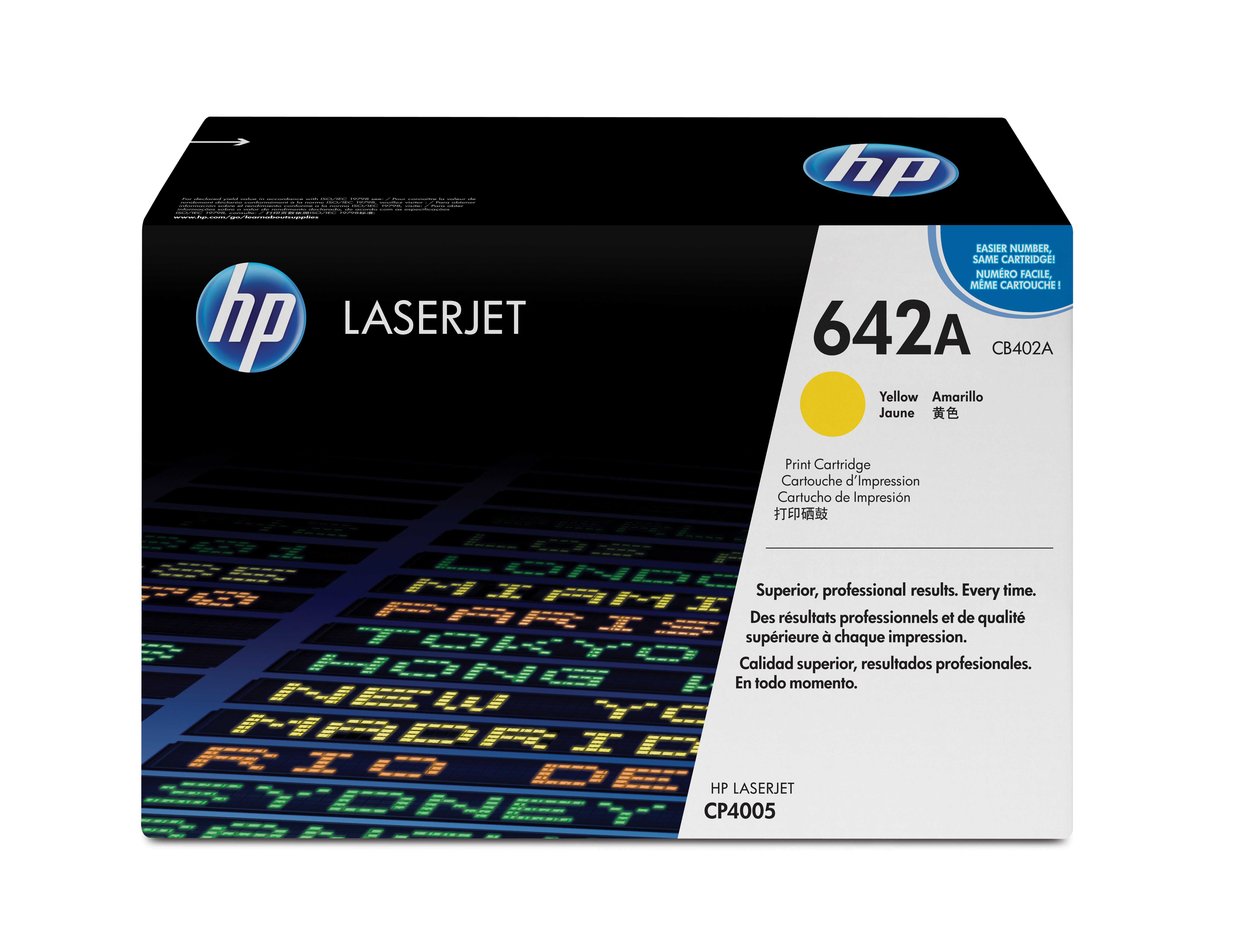 Remanufactured HP CB402A Toner Cartridge Yellow CB402A - rem01