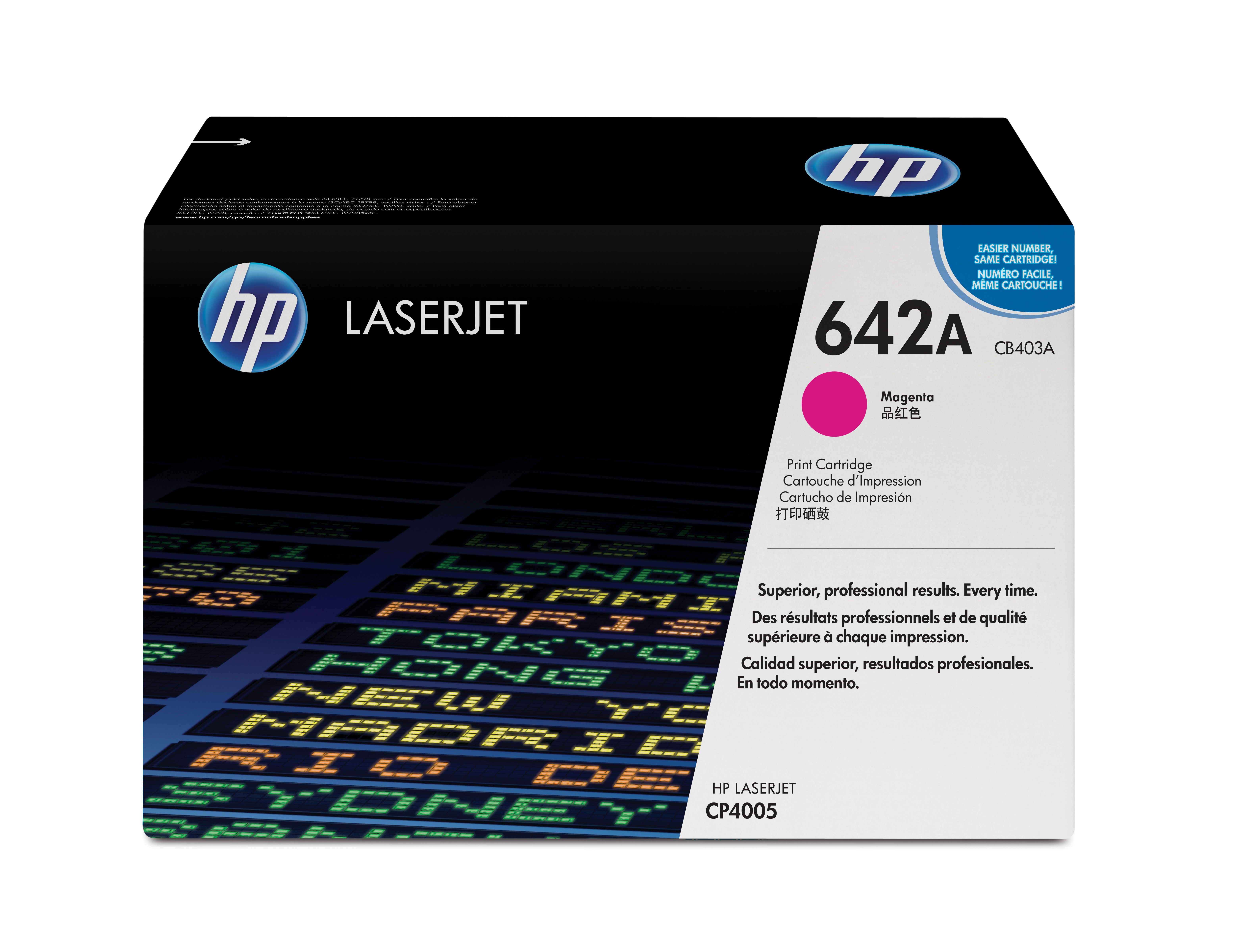 Remanufactured HP CB403A Toner Cartridge Magenta CB403A - rem01