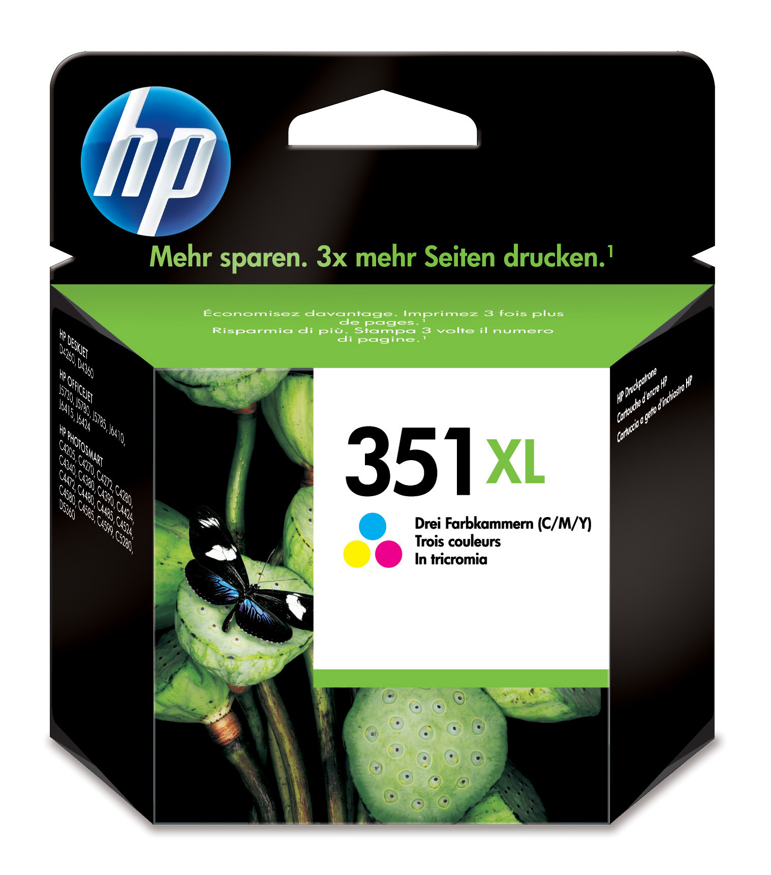Remanufactured HP CB338EE (351XL) Colour Ink Cartridge CB338EE - rem01
