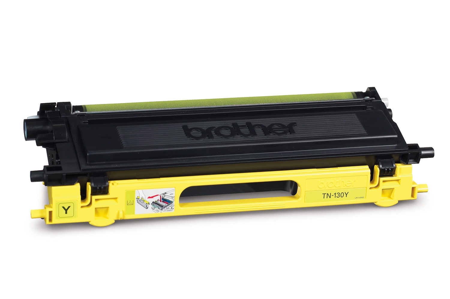 Remanufactured Brother TN130Y Toner Cartridge Yellow 4K TN130Y - rem01