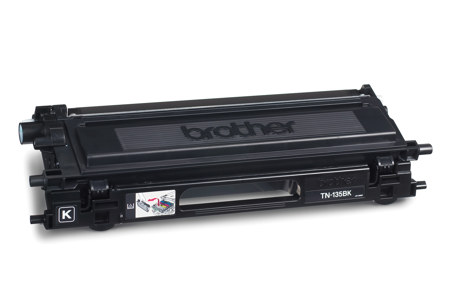 Remanufactured Brother TN135BK Toner Cartridge Black 5K TN135BK - rem01