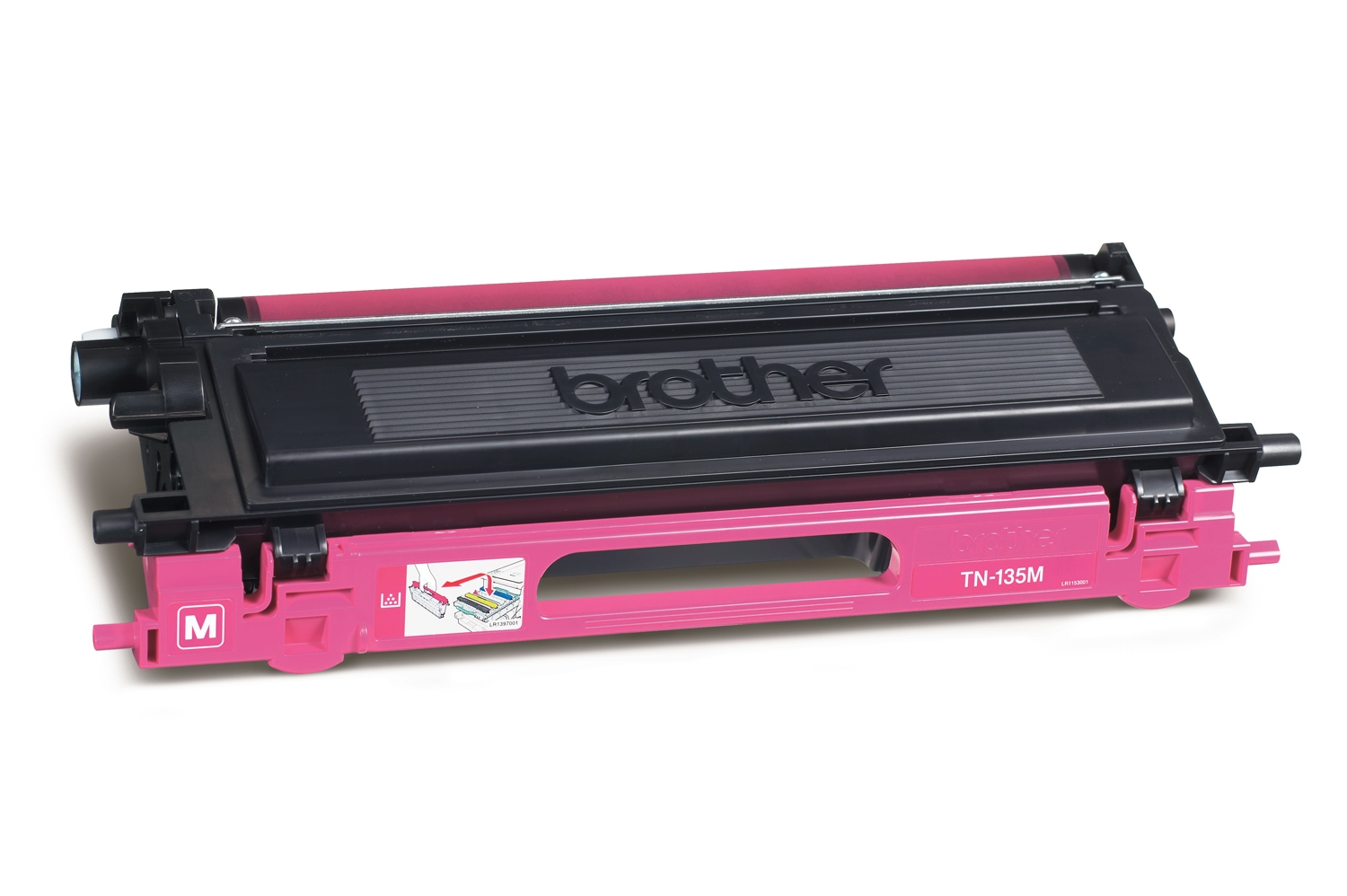 Remanufactured Brother TN135M Toner Cartridge Magenta 4K TN135M - rem01