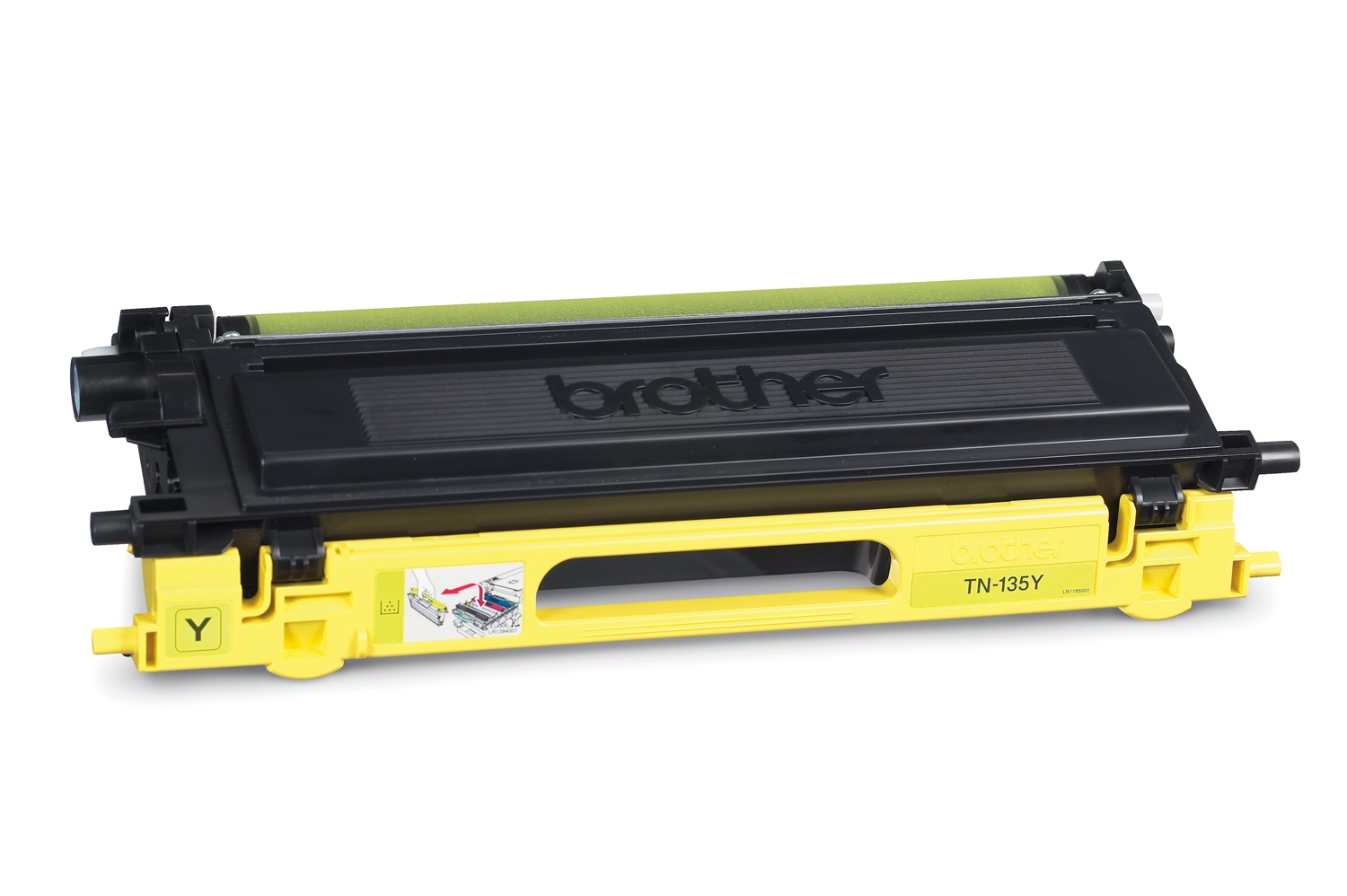 Remanufactured Brother TN135Y Toner Cartridge Yellow 4K TN135Y - rem01