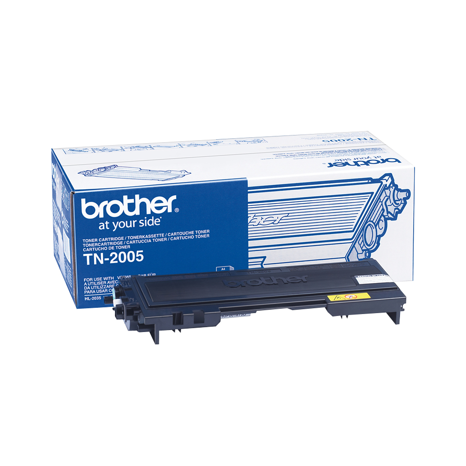 Remanufactured Brother TN2005 Toner Cartridge Black TN2005 - rem01