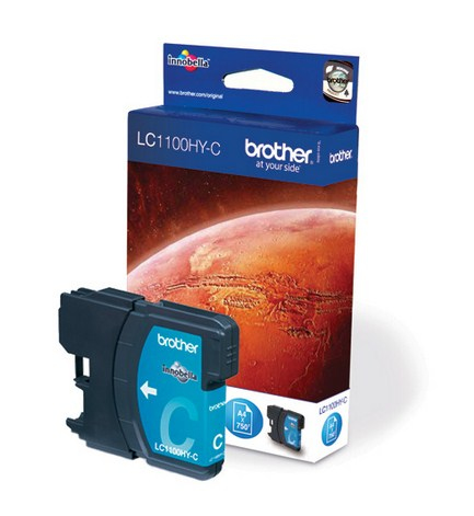 Compatible Brother (LC1100HYC) Cyan Ink Cartridge LC1100HYC - rem01