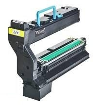 Remanufactured QMS 1710582-002 Toner Cartridge Yellow 1710582-002 - rem01