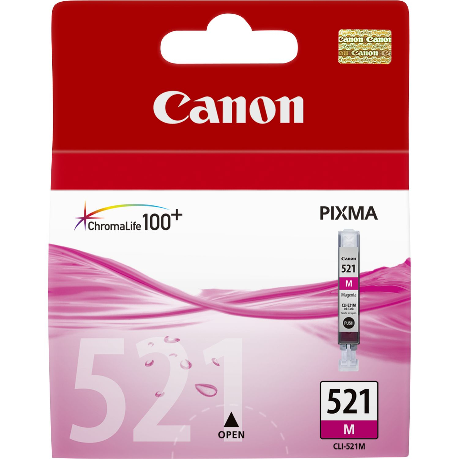 Blue Box Compatible Canon 2935B001AA (CLI521) Magenta Ink Cartridge 2935B001AA - rem01