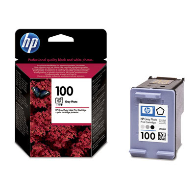 Remanufactured HP C9368AE (100) Photo Grey Ink Cartridge C9368AE - rem01