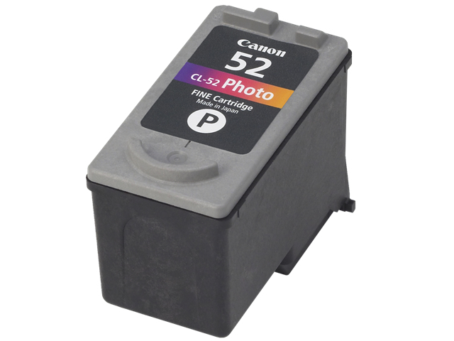 Remanufactured Canon 0619B001AA (CL52) Photo Ink Cartridge CL-52 - rem01