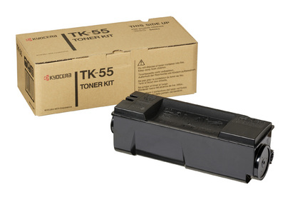Remanufactured Kyocera TK55 Toner Cartridge Black 15k TK55 - rem01