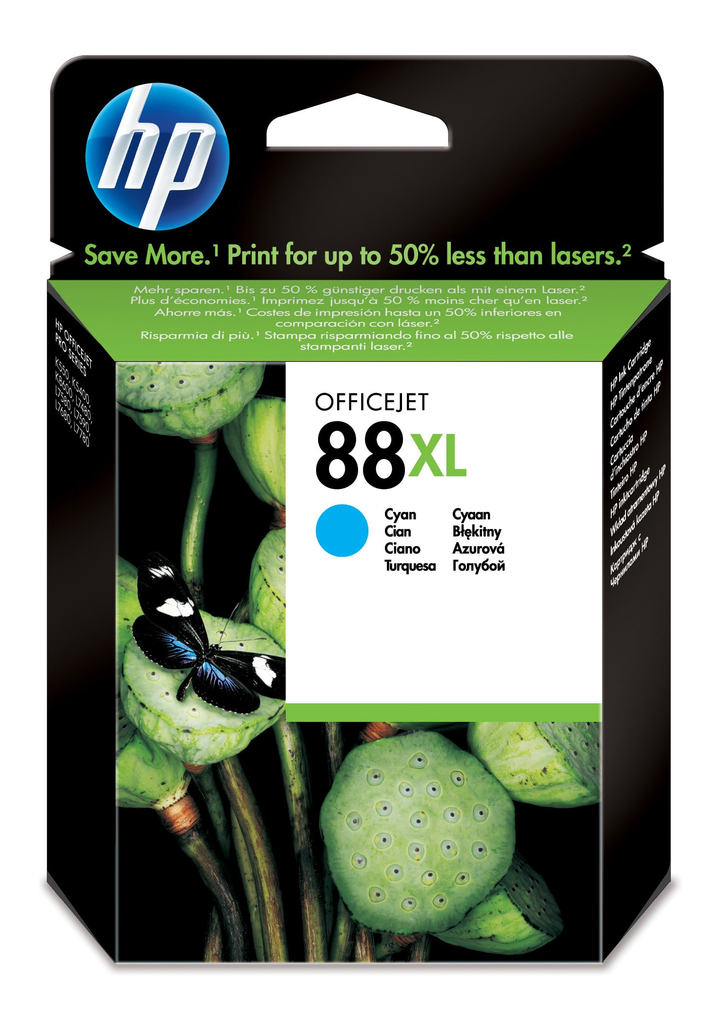 Remanufactured HP C9391AE (88XL) Cyan Ink Cartridge C9391AE - rem01