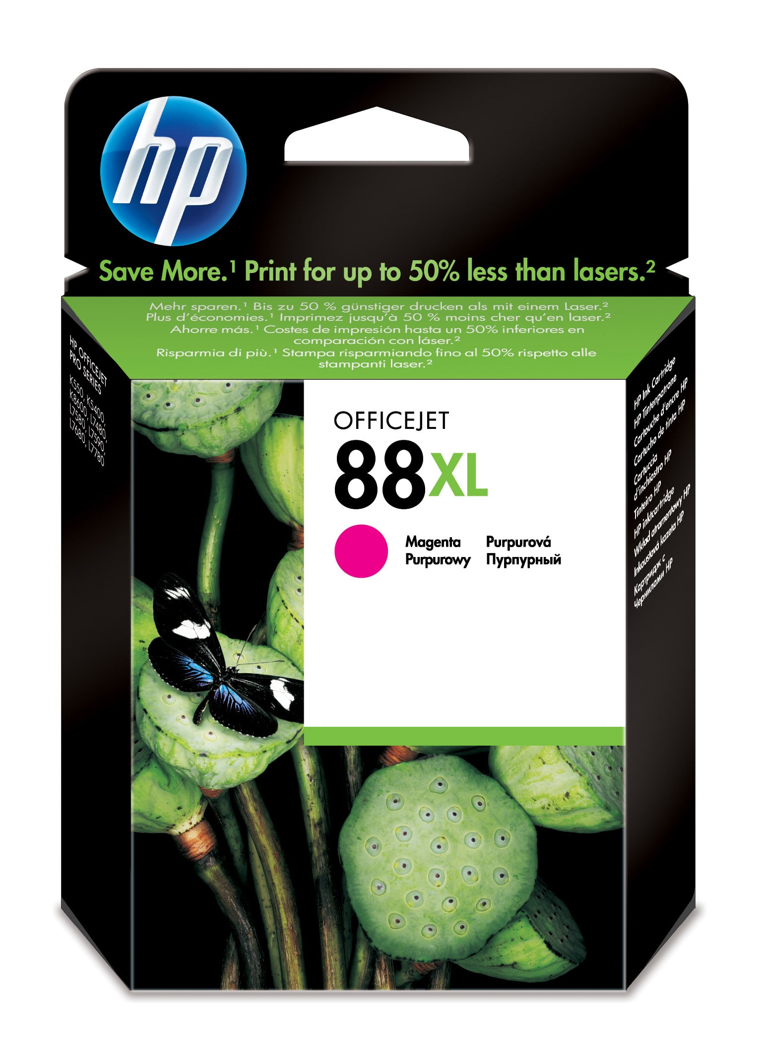Remanufactured HP C9392AE (88XL) Magenta Ink Cartridge C9392AE - rem01