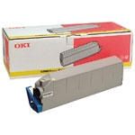 Remanufactured Oki 41515209 Toner Cartridge Yellow C9200 (15k) 41515209 - rem01