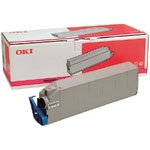 Remanufactured Oki 41515210 Toner Cartridge Magenta C9200 (15k) 41515210 - rem01