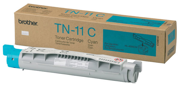 Remanufactured Brother TN11C Toner Cartridge Cyan 6k TN11C - rem01