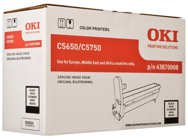 Remanufactured Oki 43870008 Drum Black 20k 43870008 - rem01