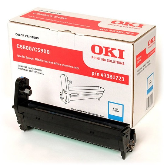 Remanufactured Oki 43381723 Drum Cyan 20k 43381723 - rem01