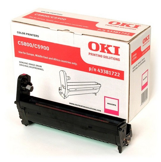 Remanufactured Oki 43381722 Drum Magenta 20k 43381722 - rem01