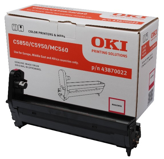 Remanufactured Oki 43870022 Magenta Drum 43870022 - rem01