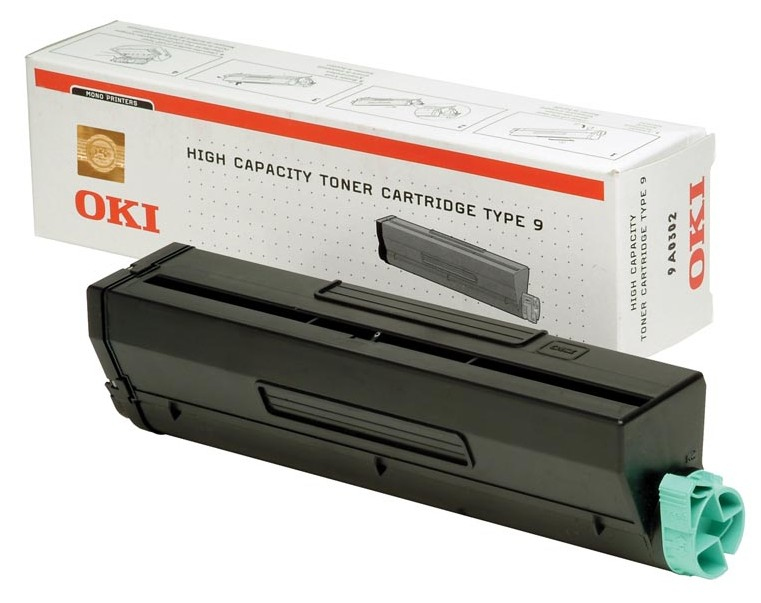 Remanufactured Oki 01101202 Toner Cartridge Black B4300 / B4350 6k 1101202 - rem01