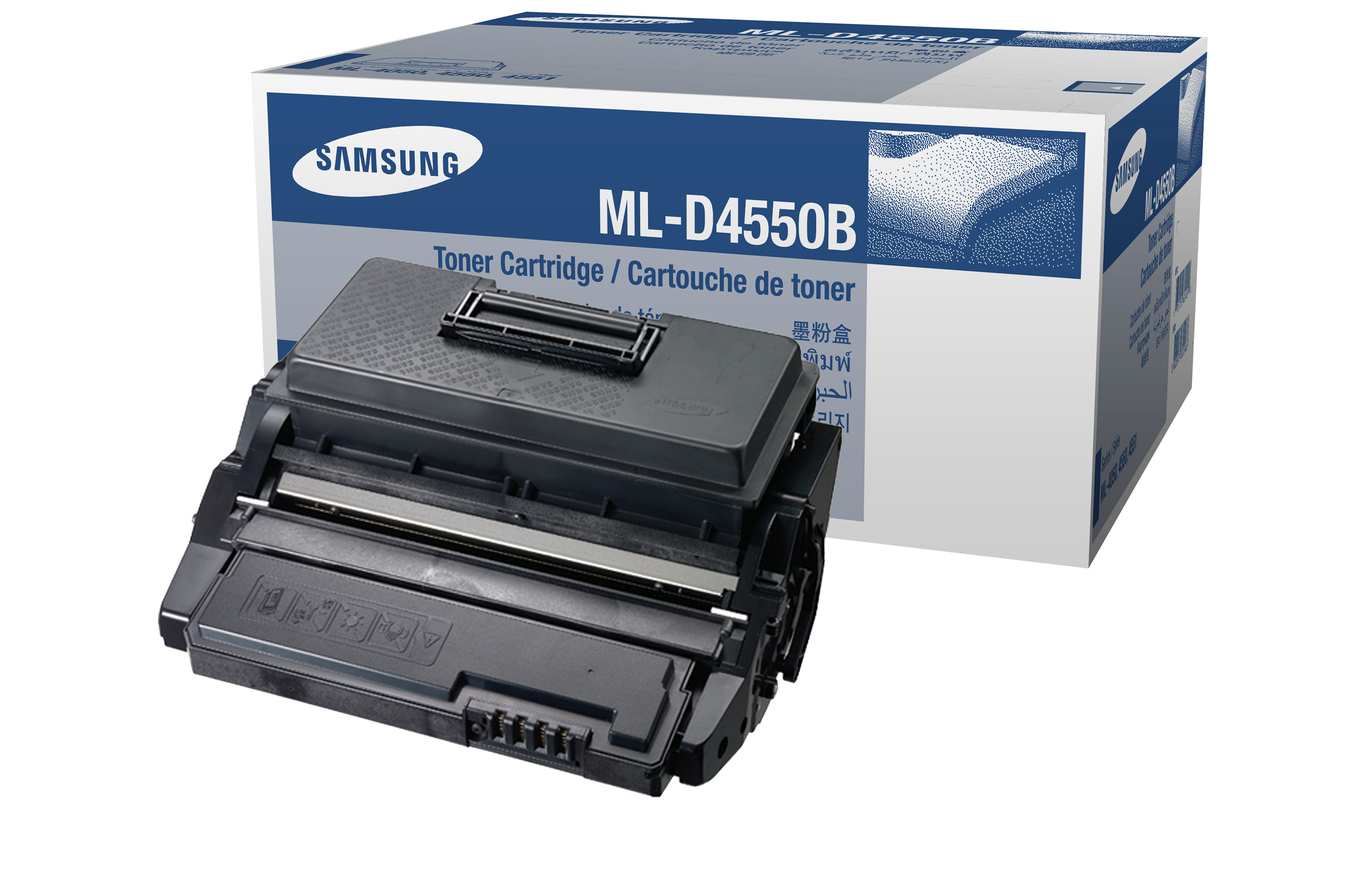 Remanufactured Samsung ML-D4550A Toner Cartridge Black 10k ML-D4550A - rem01