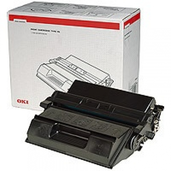 Remanufactured Oki 09004079 Toner Cartridge Black B6300 17k 9004079 - rem01