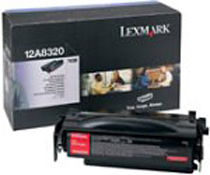 Remanufactured Lexmark 12A8320 Toner Cartridge Black 6k 12A8320 - rem01