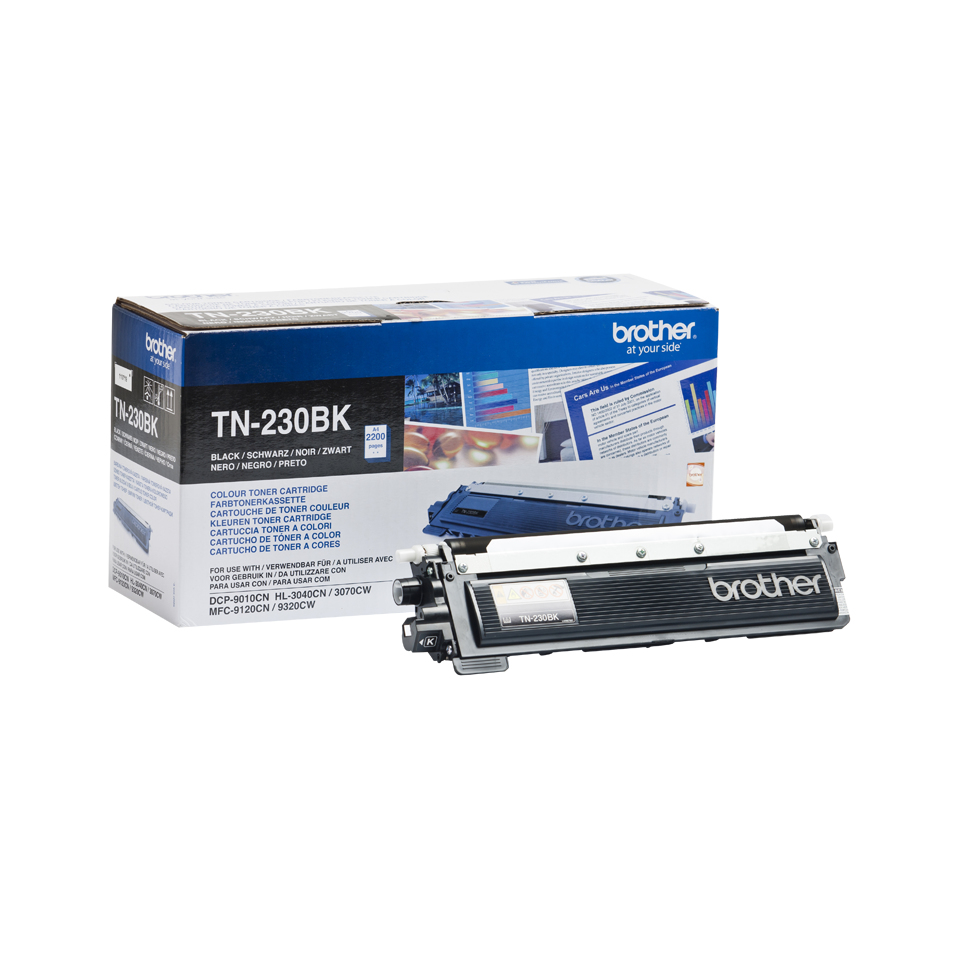 Remanufactured Brother TN230BK Black Toner TN230BK - rem01